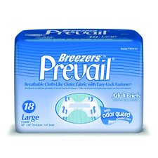 <strong>First Quality</strong> Breezers by Prevail Adult Briefs (Large)