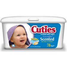 Cuties Quilted Baby Wipes-Scented