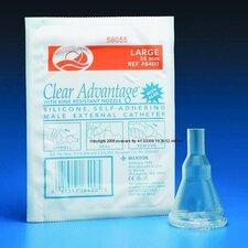 Clear Advantage External Non Latex Catheter