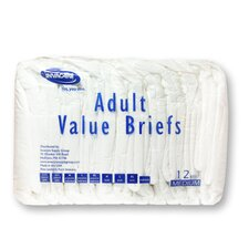 Value Series Adult Briefs in Blue