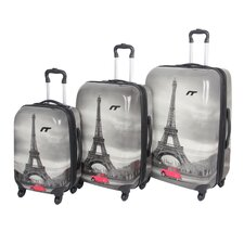 St. Christol 3 Piece Spinner Luggage Set
