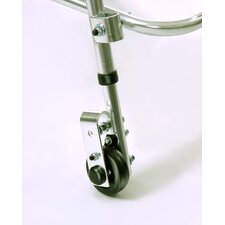 Variable Resistance Rear Walker Wheel for Anterior Support