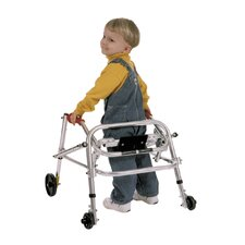 Small Child's Walker with Silent Wheels Legs Installed