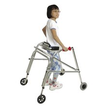 Pre-Adolescent Walker with Silent Wheels and Legs Installed