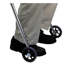 Large Walker Front Legs Wheel with Built in Seat (Set of 2)