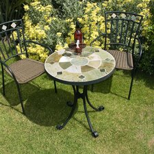 Orba Low Round Bistro Table