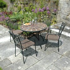 Granada 5 Piece Round Dining Set