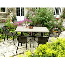 Montreux 7 Piece Rectangular Dining Set