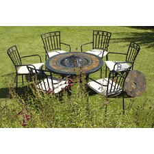 <strong>Europa Leisure</strong> Durango Fire Pit Table and Murcia Chair Collection
