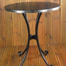 Fleuretta Round Steel Bistro Set