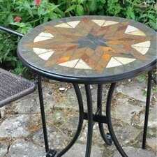 Montilla Round Steel Bistro Table