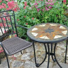Montilla 3 Piece Round Standard Dining Set with Malaga Chair
