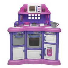 <strong>American Plastic Toys</strong> 22 Piece Homestyle Kitchen Set