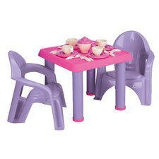 <strong>American Plastic Toys</strong> 28 Piece Tea Party Set