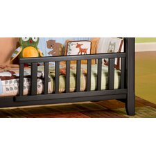 Logan Full Size Bed Rails for Convertible Crib in White