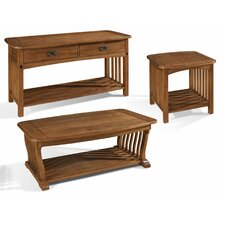 <strong>Somerton Dwelling</strong> Craftsman Coffee Table Set