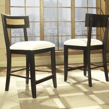 Insignia Barstool in Natural Maple and Merlot
