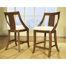 Gatsby Barstool in Medium Brown