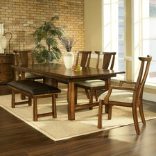 <strong>Somerton Dwelling</strong> Dakota 6 Piece Dining Set