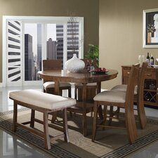 <strong>Somerton Dwelling</strong> Milan 6 Piece Counter Height Dining Set