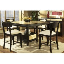 <strong>Somerton Dwelling</strong> Insignia 5 Piece Counter Height Dining Set