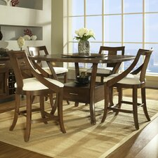 <strong>Somerton Dwelling</strong> Gatsby 5 Piece Counter Height Dining Set