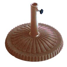 Veranda Free Standing Bronze Stone Umbrella Base
