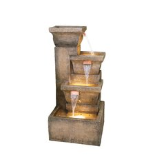 Ashboro Zen Polyresin Fountain