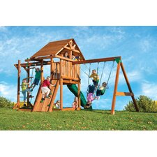 <strong>Kids Creations</strong> Redwood Circus 4 Swing Set