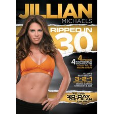 <strong>Gaiam</strong> Jillian Michaels Ripped in 30 DVD