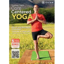 <strong>Gaiam</strong> Rodney Yee Core Centered Yoga DVD