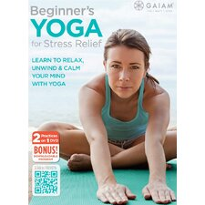 <strong>Gaiam</strong> Beginner's Yoga for Stress DVD