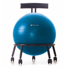<strong>Gaiam</strong> Custom Fit Balance Ball Chair