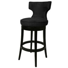 "<strong>Pastel Furniture</strong> Augusta 30"" Swivel Bar Stool with Cushion"