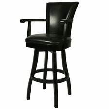 "<strong>Pastel Furniture</strong> Glenwood 30"" Swivel Bar Stool with Cushion"