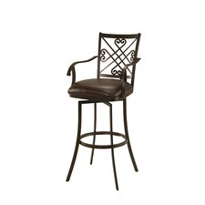 "Savannah 30"" Swivel Bar Stool with Cushion"