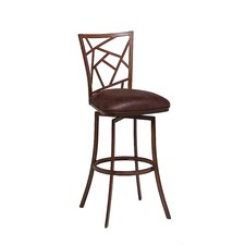 "Homestead 30"" Swivel Bar Stool with Cushion"