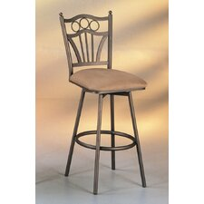 "Florence 30"" Swivel Bar Stool with Cushion"