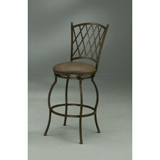 Atrium Swivel Barstool in Autumn Rust