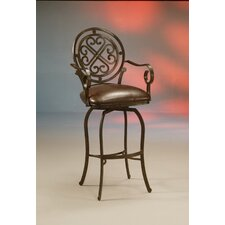 "Island Falls 26"" Swivel Bar Stool with Cushion"