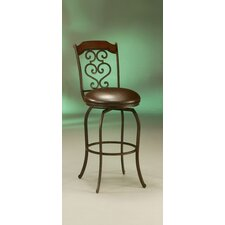 <strong>Pastel Furniture</strong> Jersey Meadow Barstool in Autumn Rust