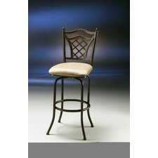 "<strong>Pastel Furniture</strong> Willow Bridge 26"" Swivel Bar Stool with Cushion"