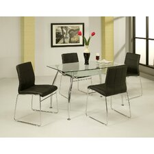 <strong>Pastel Furniture</strong> Roman 5 Piece Dining Set