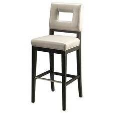 "Hajime 26"" Bar Stool with Cushion"