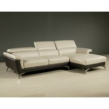 Elloise Leather Sectional Set