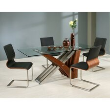 <strong>Pastel Furniture</strong> Akasha 5 Piece Dining Set