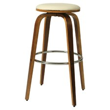 "Yohkoh 26"" Bar Stool with Cushion"