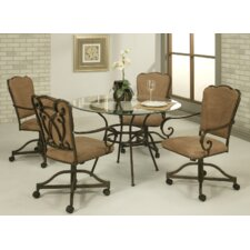 <strong>Pastel Furniture</strong> West Port 5 Piece Dining Set