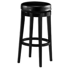 "Richfield 26"" Backless Leather Barstool"