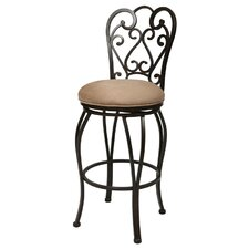 "Magnolia 30"" Swivel Bar Stool with Cushion"